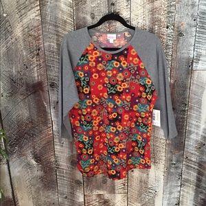 NWT Lularoe Randy shirt, XL